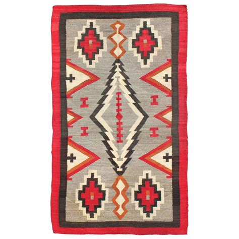 Navajo Rug Design by Antique Navajo Rug With Geometric Design For Sale At 1stdibs