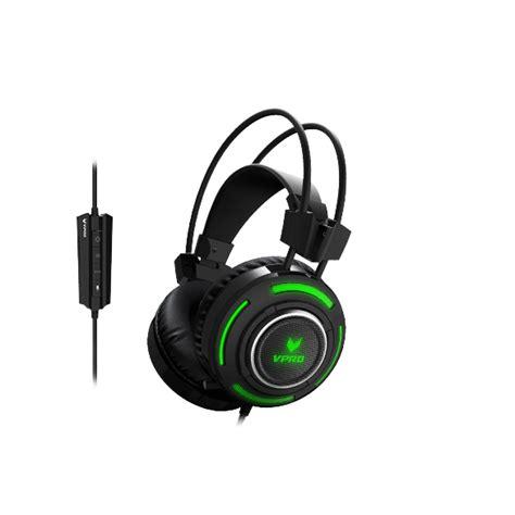 Rapoo Vpro Gaming Headset Vh200 Hitam rapoo quot vpro vh600 quot 7 1 gamer headset hama