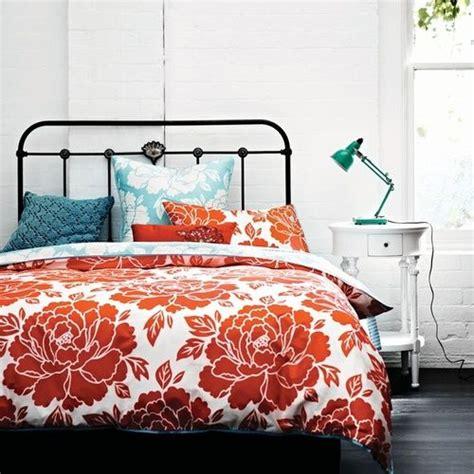 teal and orange bedding best 25 orange bedding ideas on pinterest navy orange