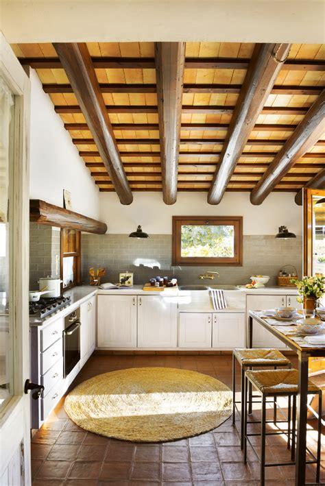 muebles de cocina madera rustica 20 cocinas r 250 sticas bonitas con muebles vintage y mucho