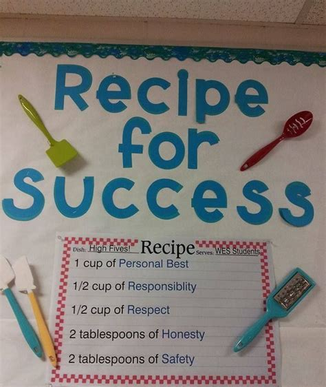 kitchen bulletin board ideas 25 best ideas about recipe for success on pinterest