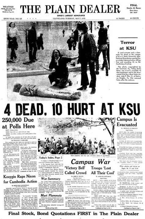 college newspaper kent state coming of age 40 years after may 4 1970