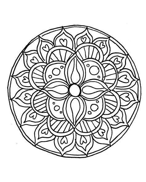 coloring pages of mandala designs how to draw a mandala with free coloring pages