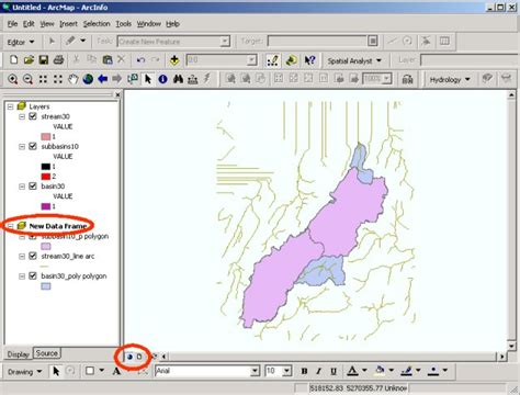 Arcgis Layout View Data Frame | lectures ocean 452