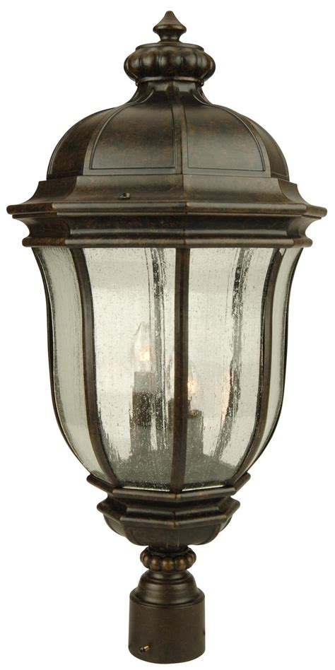 3 l post light outdoor outdoor lantern post lights hinkley lighting 1671