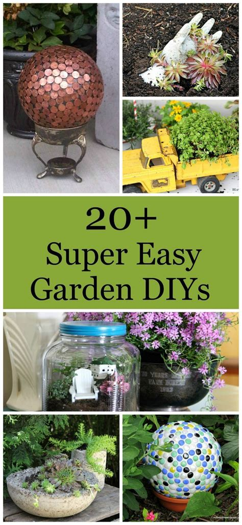 diy garden projects over 20 diy gardening projects that are super easy and fun