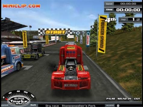 play free truck racing play trucks car free