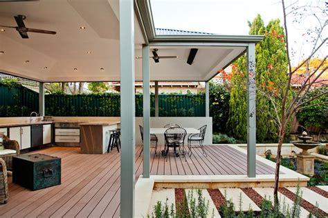alfresco kitchens perth designs ideas patio living