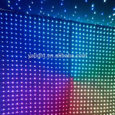 led star cloth curtain 2015 hot led video cloth led curtain backdrop fabric