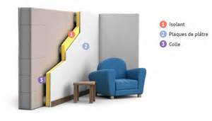 fonctionnement et principe isolation des murs par l int 233 rieur