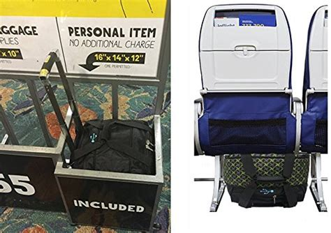 spirit airlines personal item backpack boardingblue new spirit airlines personal item under seat