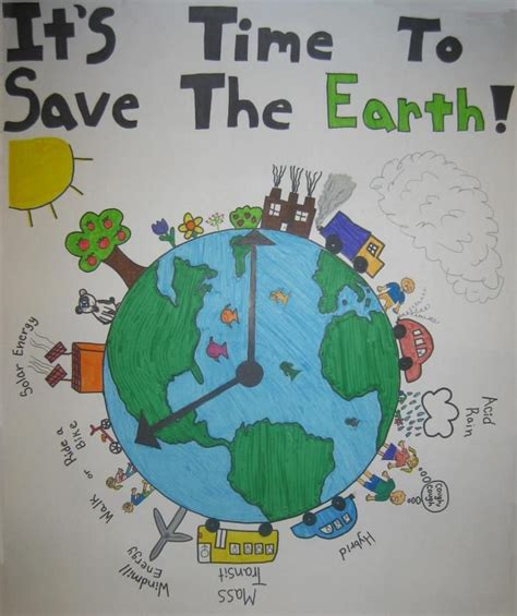 Kaos Save Earth From Pollution posters on pollution free environment www pixshark