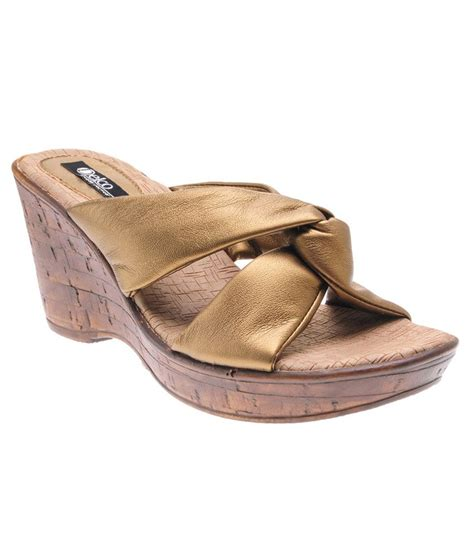 delco gold wedges sandals price in india buy delco gold