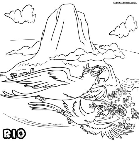 jewel rio coloring pages of coloring pages
