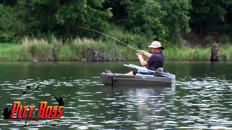 the pitt boss mini boat kick float combo youtube - Pit Boss Boat
