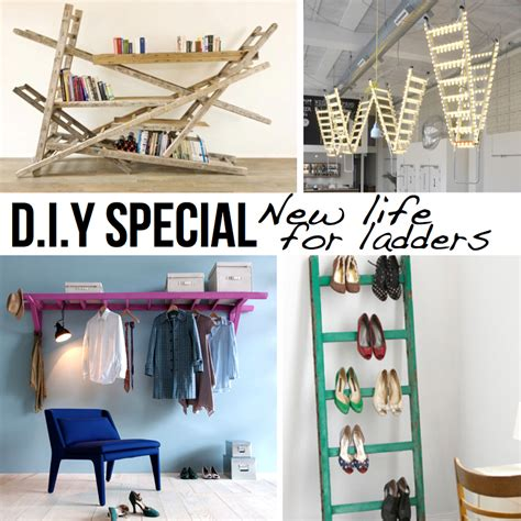 interesting and creative bedroom d i y ideas for teenagers new life for ladders 10 diy ideas tutorials