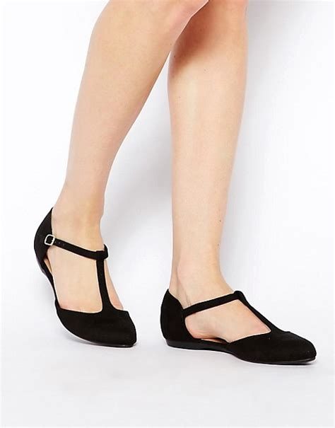 black flat shoes new look new look new look jupiter black t bar flat shoes