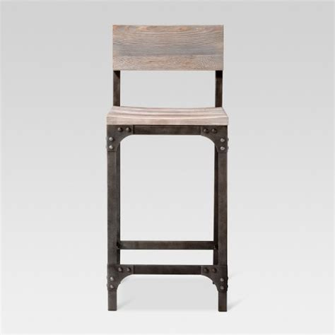 Franklin Low Back 24 Counter Stool by Franklin Low Back 24 Quot Counter Stool Threshold Target