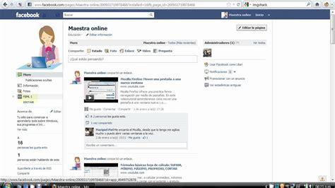 pagina para editar fotos apexwallpapers com facebook crear p 225 gina de inicio personalizada youtube