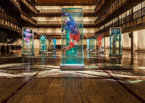 dustin yellin infills lincoln center with glass dancers
