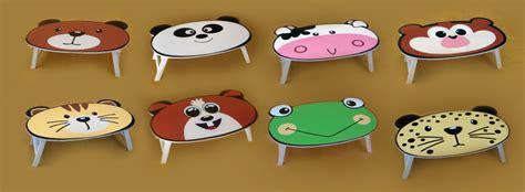 Meja Lipat Anak pilihan model meja lipat anak yang unik dan lucu