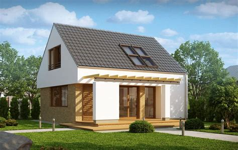Small Easy To Build House Plans by Small Modern Houses With Loft The Practical Choice