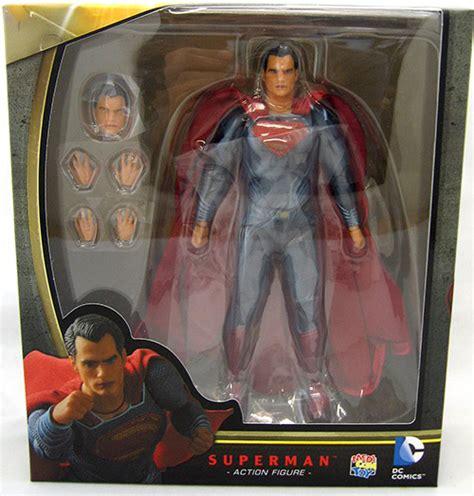 Figure Batman Vs Superman Superman Bendable Figure medicom batman v superman of justice superman maf ex figure ebay