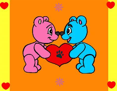 imagenes de amor de ositos animados dibujos animados ositos enamorados imagui