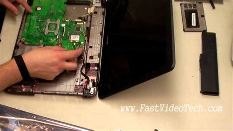 toshiba satellite power problem fix dc replacement