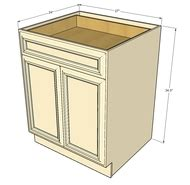 42 inch base cabinet with drawers tuscany white maple large base cabinet with double doors