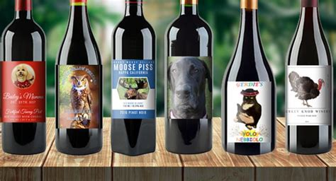 best wine labels best wine labels with pets for 2016