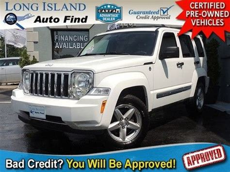 09 Jeep Liberty Sell Used 09 Jeep Liberty Limited 4x4 Leather Pano Sunroof