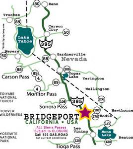 highway 395 california map bridgeport ca bridgeport california motel eastern