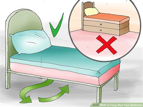 Which Way Should Your Bed by The Best Way To Feng Shui Your Bedroom Wikihow