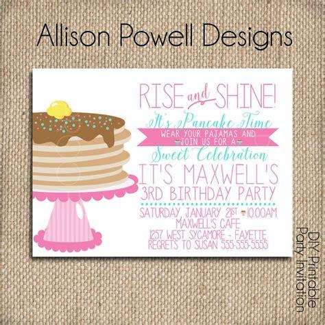 Best 25 Pajama Birthday Parties Ideas On Pinterest Pancakes And Pajamas Birthday Sleepover Pancakes And Pajamas Invitation Template