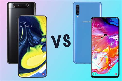 Samsung Galaxy A80 Hinta by Samsung Galaxy A80 Vs Galaxy A70 What S The Difference Gearopen