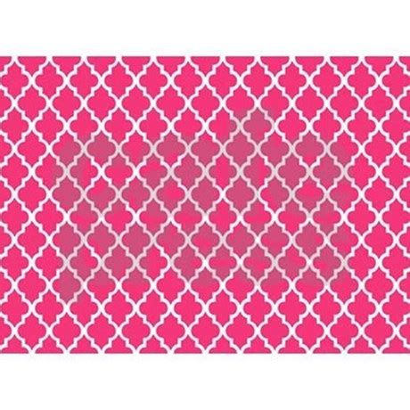 Fuschia Area Rug Fuschia Quatrefoil 5 X7 Area Rug By Mcornwallshop