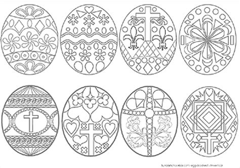 teen easter eggs coloring page challenge adult easter