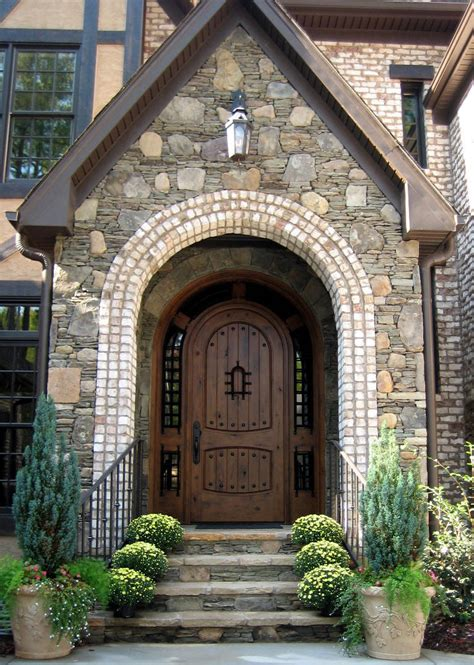 Exterior Arched Doors Wood Doors Exterior Doors Mahogany Doors Entry Doors Canton Michigan Nicksbuilding