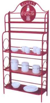 Coca Cola Bakers Rack Store Size Coca Cola Metal Rack