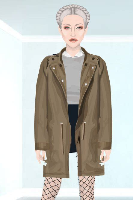 the fashion dollz parka vintage stardoll september 2012