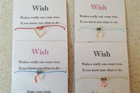 wish bracelet card template yang s jewelry wish bracelet charms card and