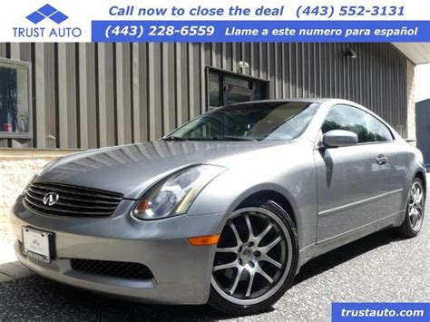 Infinity G35 2005 by 2005 Infiniti G35 Coupe Sykesville Md 23359343