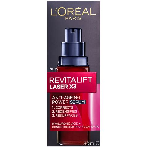 Emergency Detox X3 D A S Concentrate Drink Review by L Oreal Revitalift Laser X3 Anti Ageing Power Serum 30ml