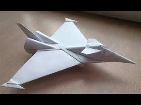 A Paper Jet - origami paper origami aircraft how to make origami