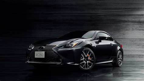 lexus coupe black 2017 lexus rc 350 f sport prime black wallpaper hd car