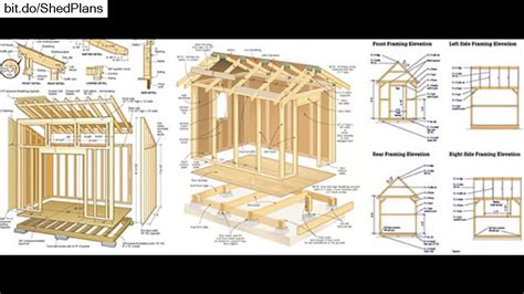 shed layout plans shed plans free 12x16 shed plans youtube