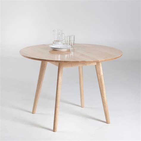 Table De Cuisine 4 Personnes by Table Ronde 4 Personnes Jimi Naturel La Redoute