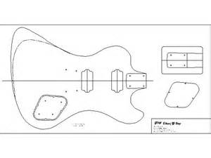 Telecaster Guitar Template by Telecaster Template Images