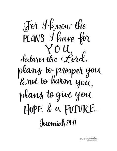 How High To Hang A Picture On A Wall by Pure Joy Creative Jeremiah 29 11 Free Printable
